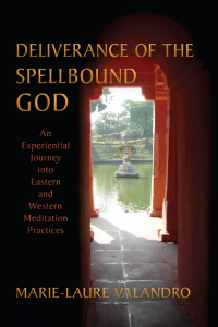 Deliverance of the Spellbound God cover showing a fountain through a doorway
