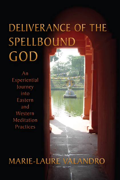 Deliverance of the Spellbound God cover showing a fountain through a doorway.